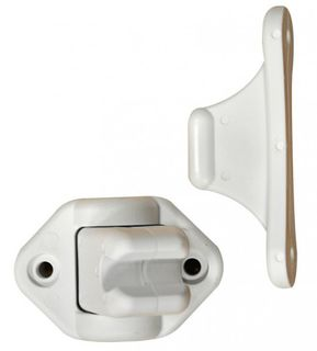 DOOR CATCH FOR CARAVANS, flexible, plastic