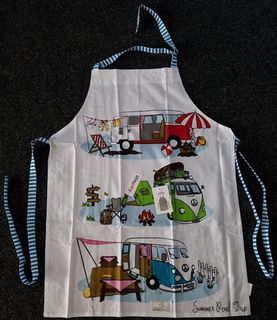 Summer Road Trip Apron, large, by Hot House Homewares