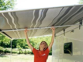 Fiamma rafter for caravanstore XL bag awning