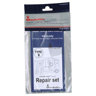 Isabella awning/tent repair set type B for PVC