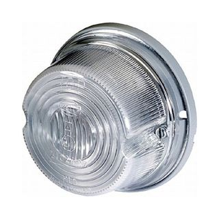 Round Front Marker Light
