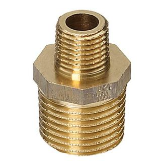 "Adapter Piece Brass 1/2"" to 1/4"""