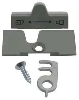 Dometic fridge door lock, Grey, No. 241275730/0