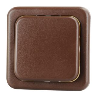 Light Switch 1-pin Brown