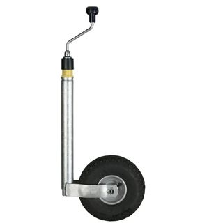 Jockey Wheel With Support Load Indicator