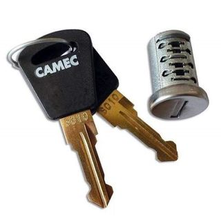 Camec barrel and 2 keys for 3 point lock