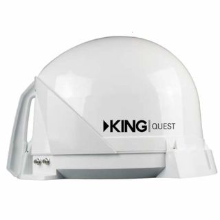 KING Quest, fully automatic satellite dish, white