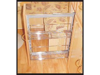 Metal basket for pull out pantry, 200mm, CAMEC