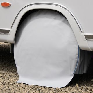 Wheel protection cover for motorhomes, tyre size 17