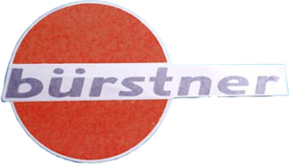 Bürstner replacement logo decal Mj97-RMWW 177mm
