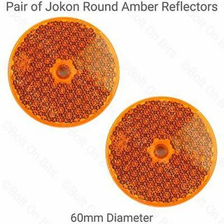 JOKON Amber Reflectors - Set of 2