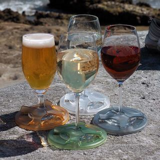 Glass on the Grass Wine Glass Support, Adventure Collection