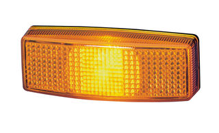 HELLA Side Marker Light Yellow, 110x40 x 25 mm