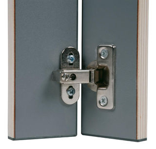 Metal Hinges for Thin Doors 60 x 20 x 50 mm