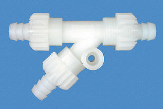 Comet X-Fix Y-piece, 10 mm, white plastic
