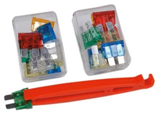 Blade fuse set, safety, 12 V,  22 pieces
