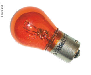 Replacement bulb, yellow, 12 V, 10 W, BA15S