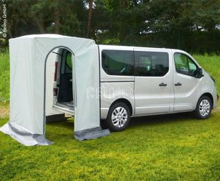 Rear tent VERTIC TRAFIC, no poles needed