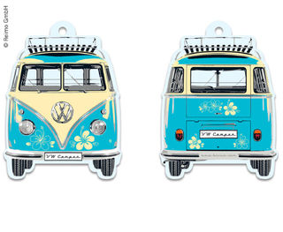 VW campervan airfreshener, Pina collada