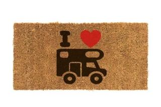I love Campervan Door Mat Coconut fibre