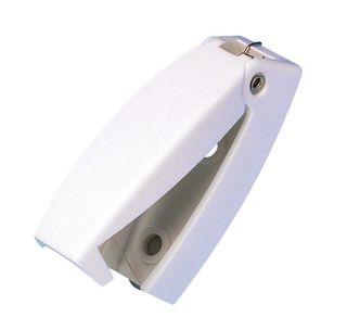 Service door latch for caravans, camper vans , motorhomes