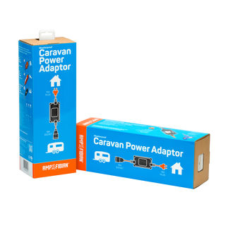 Ampfibian Mini-Plus Weatherproof caravan power adaptor