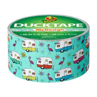 Duck Retro Caravan Design Duct Tape