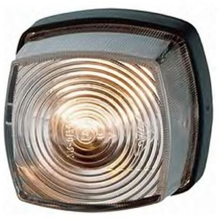 Hella Caravan Front Marker Light, Clear