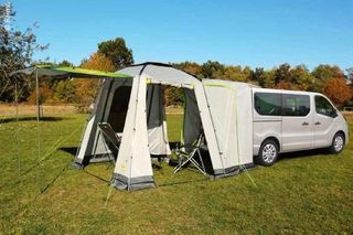 FREE STANDING REAR AWNING for minivans& minicampers, UNI VAN by REIMO