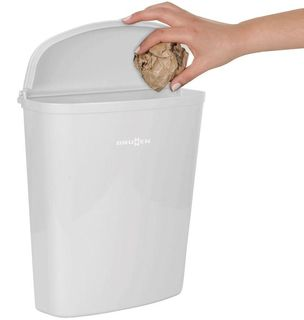 DOOR MOUNT RUBBISH BIN, 5.5 lt,