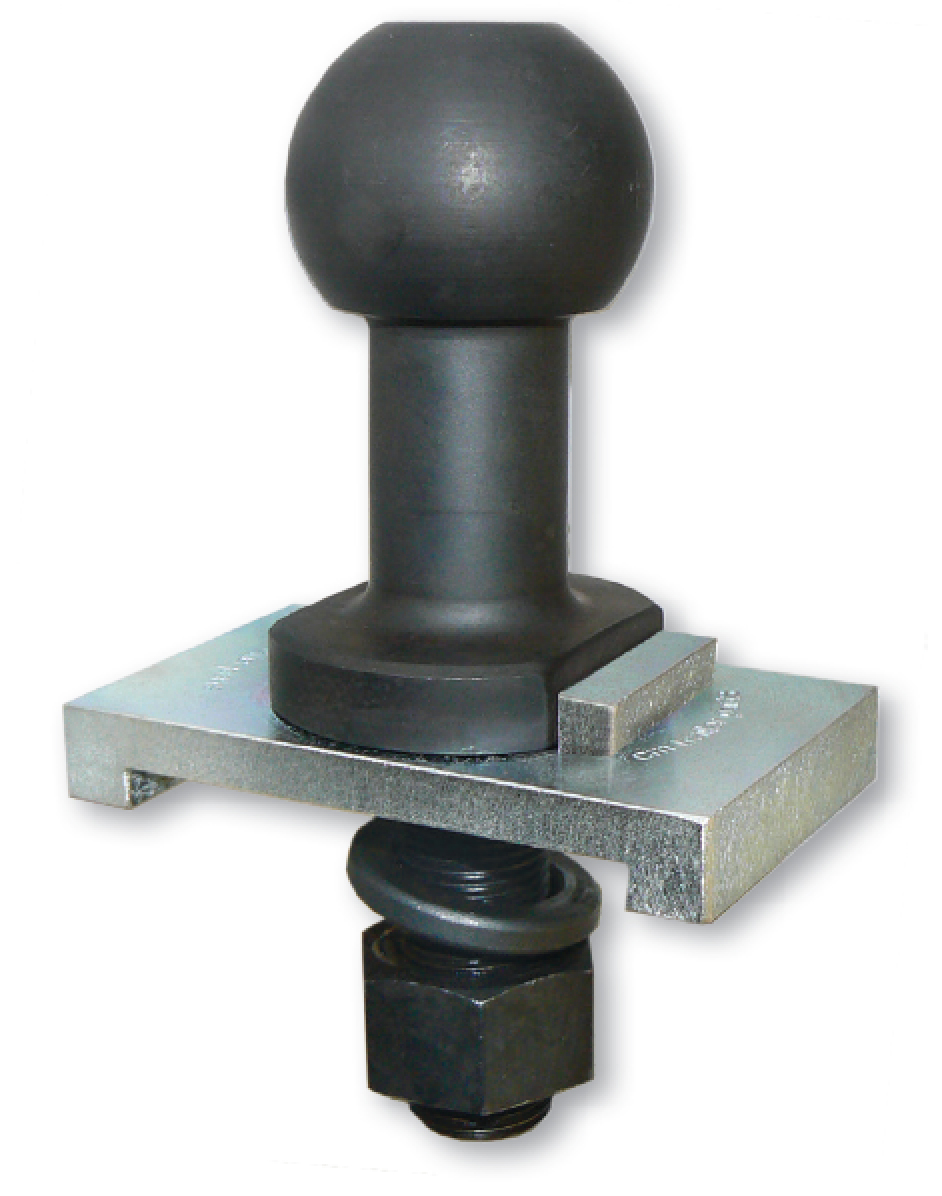High rise tow ball for safety / anti sway couplings, 50 mm