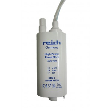Pump HIGH POWER PLUS, 12 Volt, REICH