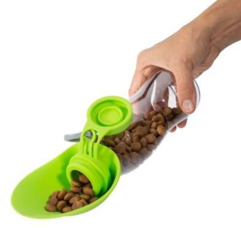 Dog travel feeding bottle