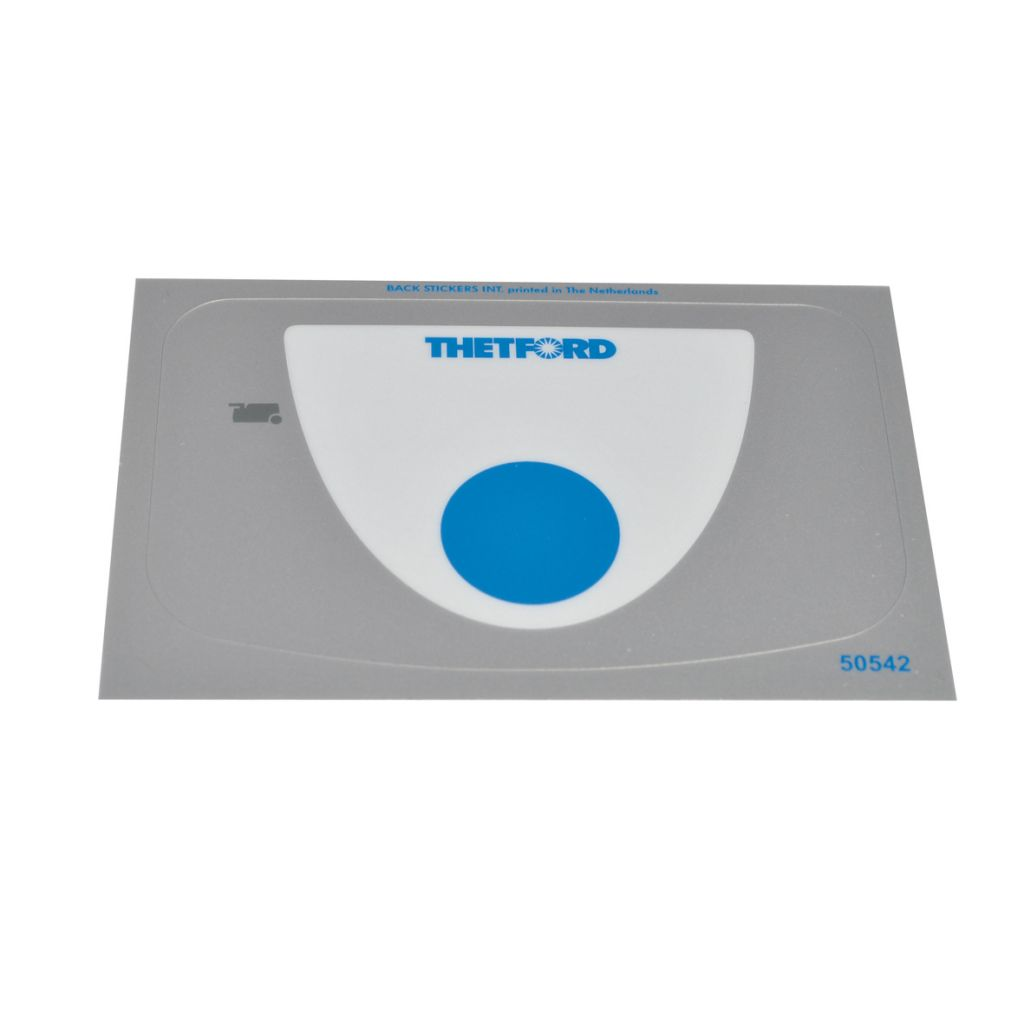 Thetford Overlay Cover Sticker for C-250 S/CS/CWE