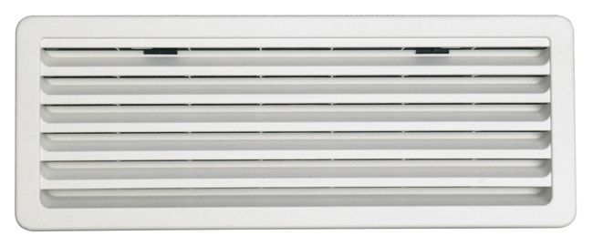 Thetford ventilation grille for Thetford fridges, Light Grey