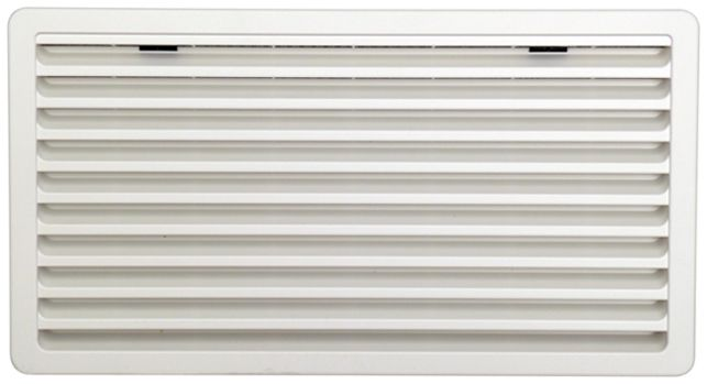 Thetford ventilation grille for Thetford refrigerators, White, Large