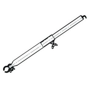 Steel Awning Roof Pole with Hook 160 – 260 cm