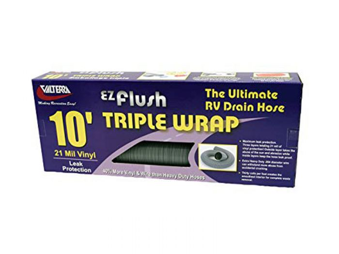 Valterra 10 foot RV sewer hose, triple wrap