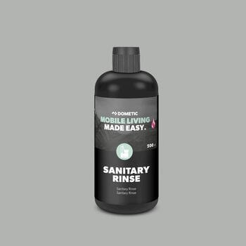 Pink sanitary rinse, Dometic,  for flush water in cassette toilets