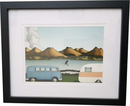 Caravan & Van Framed Print Evolution 1200cc by Hamish Allan