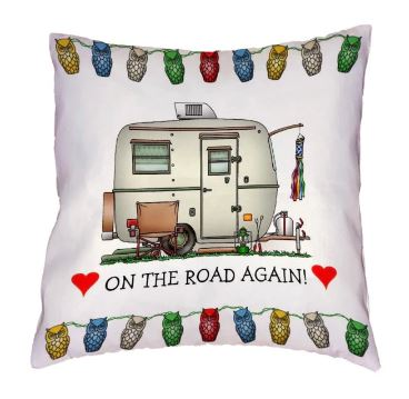 Cushion cover caravan