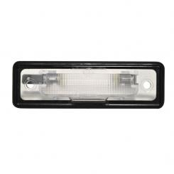 Buerstner number plate light