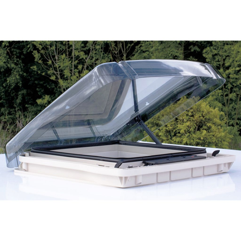 REMItop Vario II Skylight/ Roof Vent, 400 x 400 mm With Crank