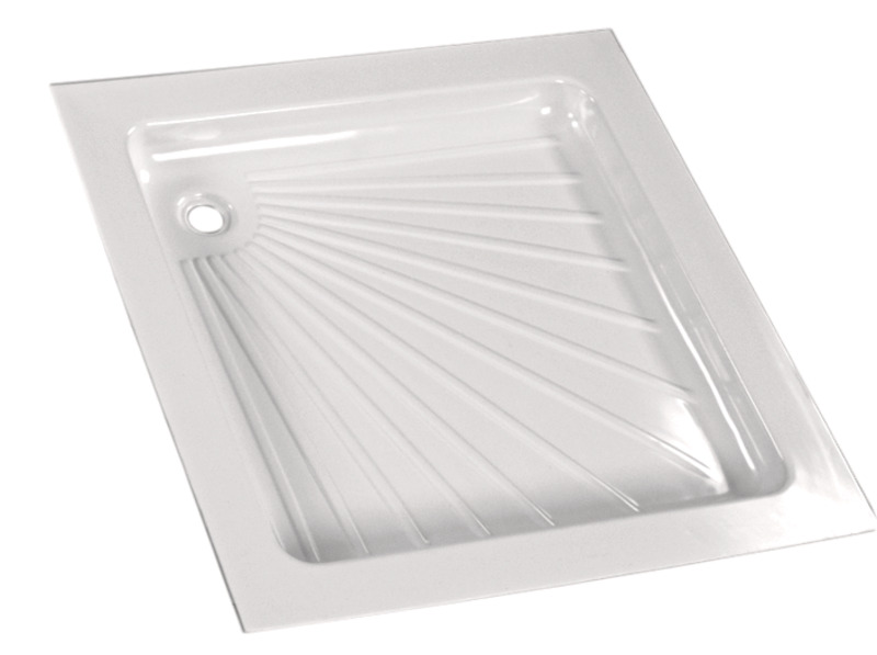 Shower Tray, 800x800 mm, White