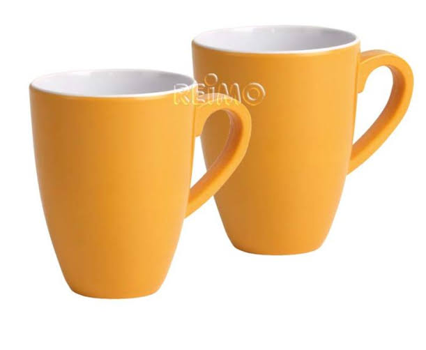 CAMP4 Cupset Paradise, Yellow, 2 cups, 400 ml