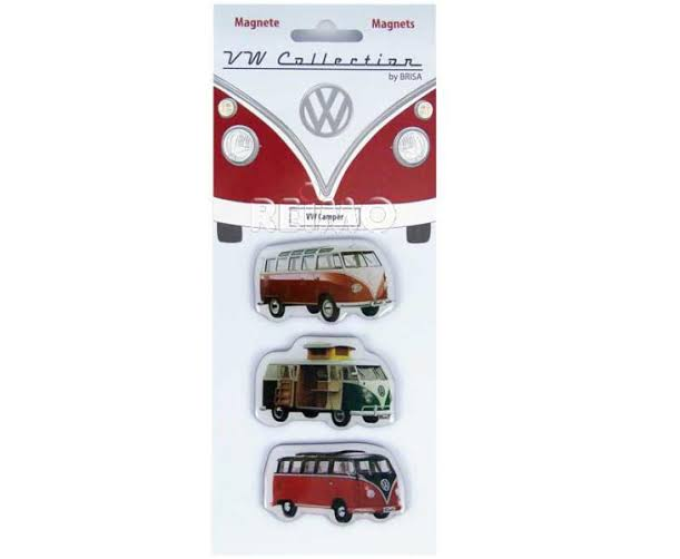 VW camper magnets, set of 3, VW collection