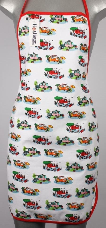 Retro caravan themed APRON