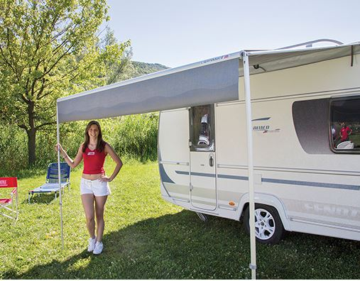 Fiamma Caravanstore XL Bag Awning, royal grey, Available in different sizes