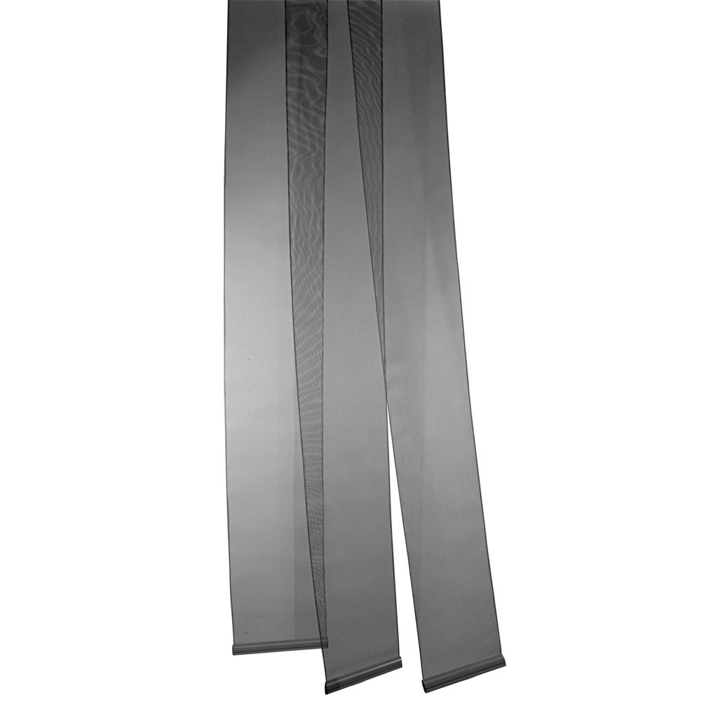 Brunner Acapulo Chenille Caravan Door Curtain One Size Black
